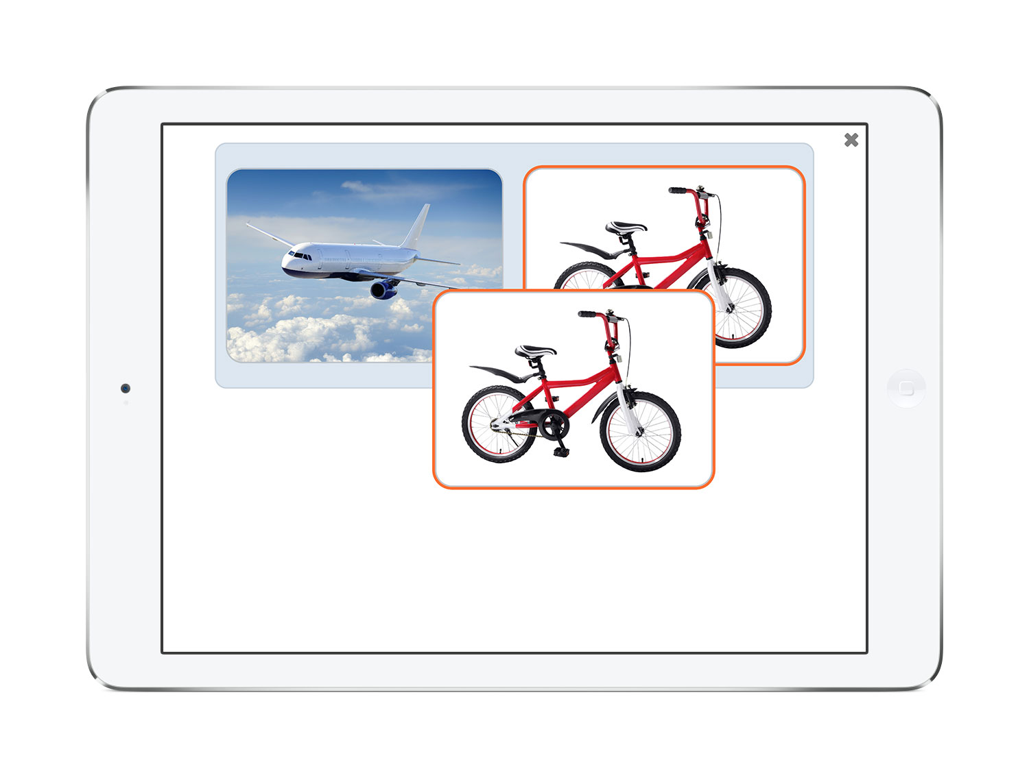 Picture of iPad edition of See and Learn Vocabulary 2