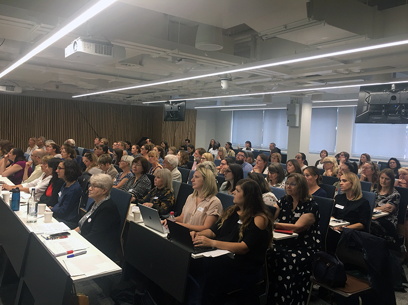 Photograph of the Down syndrome Research Forum 2019